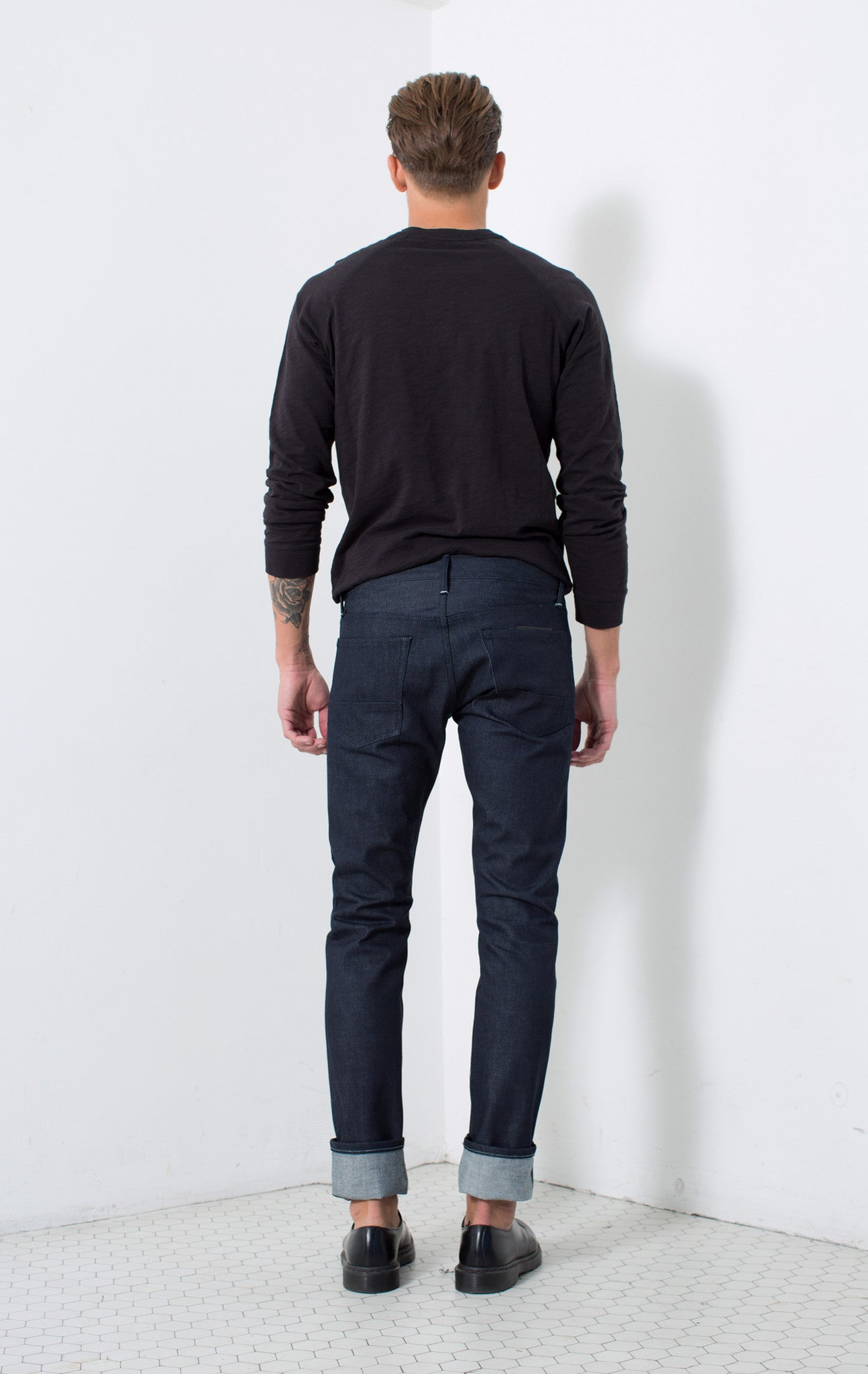 SLIM SELVAGE FIT in RAW | MADE TO ORDER