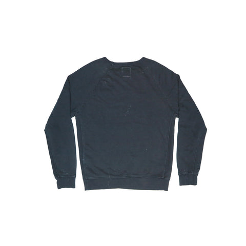 TALLEY OFFICIAL WASHED BLACK MEN'S INDIGO SWEATSHIRT | Instantly Available