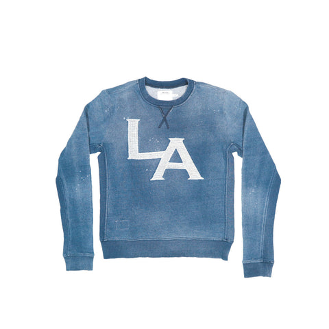 WOMEN'S LA Embroidered Sweatshirt | Instantly Available