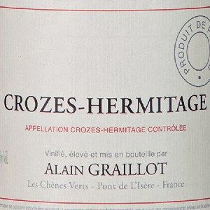Alain Graillot Crozes-Hermitage France, 2018, 750