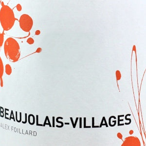 Alex Foillard Beaujolais-Villages France, 2018, 750