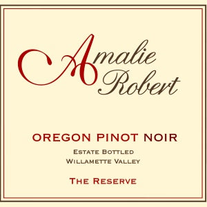 Amalie Robert The Reserve Pinot Noir Willamette Valley Oregon, 2012, 750