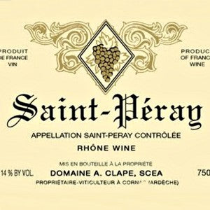 Auguste Clape Saint Peray Blanc France, 2016, 750