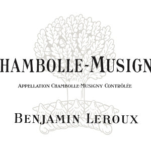Benjamin Leroux Chambolle Musigny Burgundy France, 2017, 750