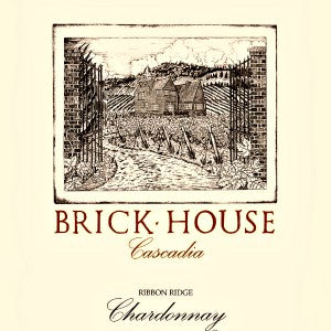 Brick House Cascadia Chardonnay Ribbon Ridge Oregon, 2015, 750