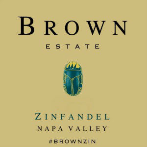 Brown Estate Zinfandel Napa Valley California 2014, 750