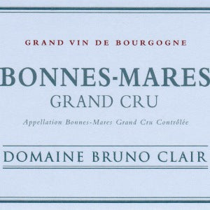 Bruno Clair Bonnes Mares Grand Cru Burgundy France, 2014, 750