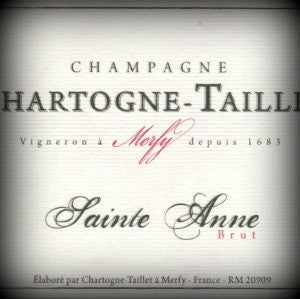 Chartogne-Taillet Cuvee Sainte-Anne Champagne, NV, 750