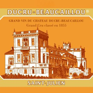 Chateau Ducru Beaucaillou Saint Julien Bordeaux France, 2006, 750