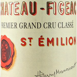 Chateau Figeac Saint-Julien France, 2005, 750