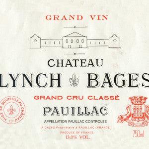 Chateau Lynch-Bages, Pauillac, France, 2010, 750