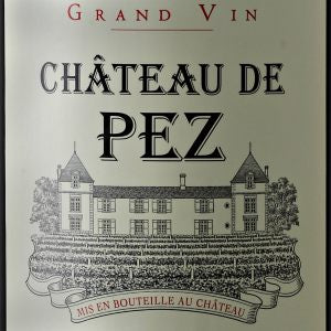 Chateau de Pez Saint-Estephe France, 2012, 750