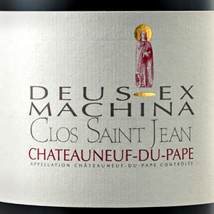 Clos Saint Jean Chateauneuf du Pape Deus Ex Machina France, 2016, 750