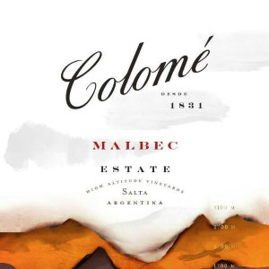Colome Estate Malbec Calchaqui Salta Argentina, 2014, 750