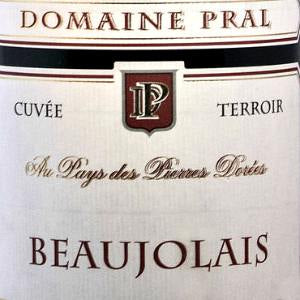 Domain Marion Pral Beaujolais Cuvee Terroir Beaujolais France, 2017, 750