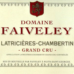 Domaine Faiveley Latricieres Chambertin Grand Cru Burgundy France, 2014, 750