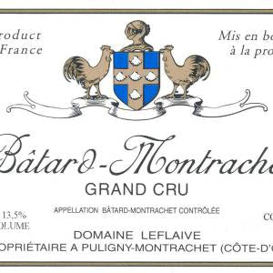 Domaine Leflaive Batard-Montrachet Grand Cru Burgundy France, 2018, 750