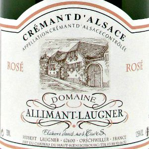 Domaine Allimant-Laugner Cremant D'Alsace Rose Brut Alsace France, NV, 750