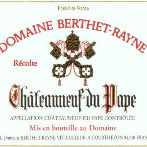Domaine Berthet-Rayne Chateauneuf du Pape Tradition France, 2012, 750