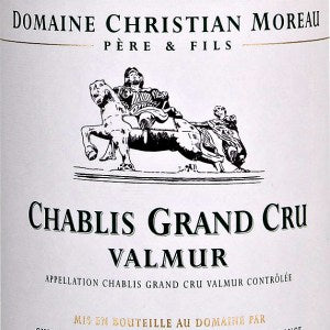 Domaine Christian Moreau Valmur Chablis Grand Cru France, 2014, 750