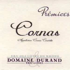 Domaine Durand Premices Cornas France, 2011, 750