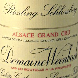 Domaine Weinbach Riesling Grand Cru Schlossberg Alsace France, 2017, 750