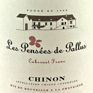 Domaine de Pallus Chinon Les Pensees Loire Valley France, 2014, 750