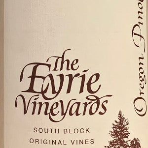 Eyrie South Block Willamette Valley Pinot Noir, 2014, 750