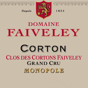 Faiveley Corton Clos des Cortons Faiveley Grand Cru Burgundy France, 2017, 750