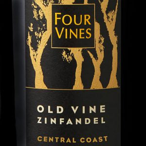 Four Vines Old Vine Zinfandel Central Coast California 2016, 750