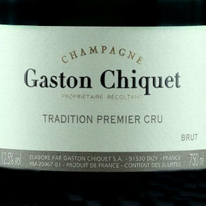 Gaston Chiquet Brut Tradition Champagne, NV, 1500