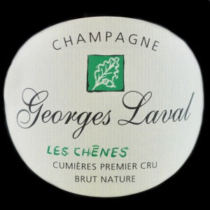 Georges Laval Brut Nature Les Chenes Champagne France, NV, 750