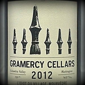 Gramercy Cellars L'Idiot du Village Columbia Valley Washington, 2012, 750