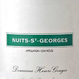 Henri Gouges Nuits Saint-George Burgundy France, 2015, 750