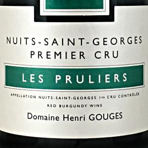 Henri Gouges Nuits Saint-George Les Pruliers Burgundy France, 2014, 750