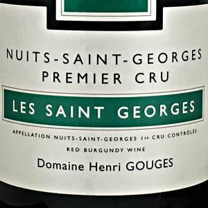 Henri Gouges Nuits Saint-George Les Saint Georges Burgundy France, 2014, 750