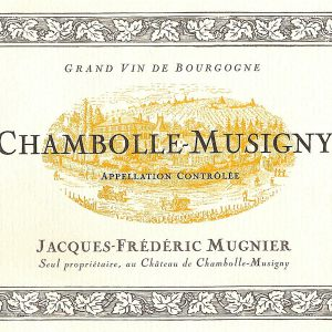 Jacques-Frédéric Mugnier Chambolle-Musigny Burgundy France, 2017, 750