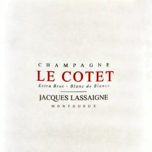 Jacques Lassaigne Le Cotet Champagne France, NV, 750