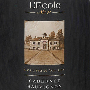 L'Ecole no. 41 Cabernet Sauvignon Columbia Valley Washington, 2012, 750