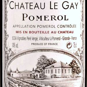Chateau Le Gay Pomerol France, 2009, 750