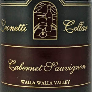 Leonetti Cellar Cabernet Sauvignon Walla Walla Washington, 2012, 750