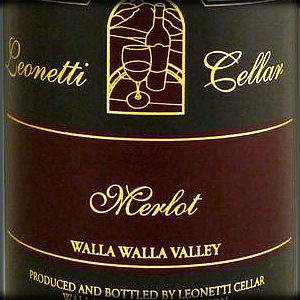 Leonetti Cellar Merlot Walla Walla Washington, 2016, 750