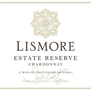 Lismore Chardonnay Estate Reserve Chardonnay South Africa, 2017, 750