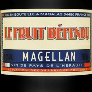 Magellan Le Fruit Defendu Red wine France, 2016, 750