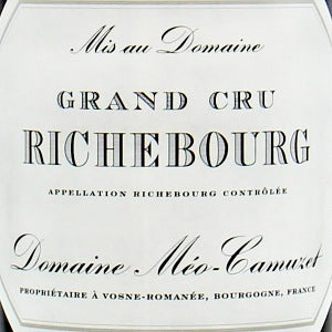 Maison Meo-Camuzet Richebourg Grand Cru Burgundy France, 2017, 750