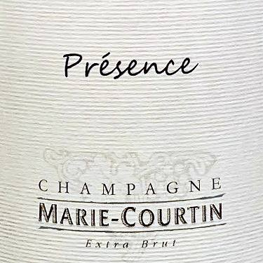 Marie-Courtin Presence Blanc de Blancs Extra Brut Champagne France, 2017, 750