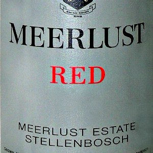 Meerlust Estate Red Stellenbosch South Africa, 2015, 750