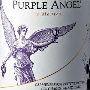 Montes Purple Angel Carmenere Colchagua Valley Chile, 2017, 750