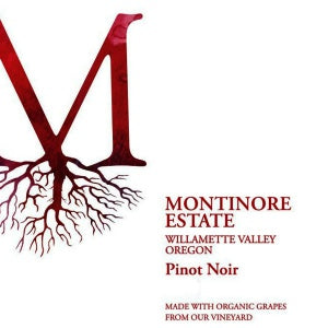 Montinore Estate Red Cap Pinot Noir Willamette Valley Oregon, 2015, 750