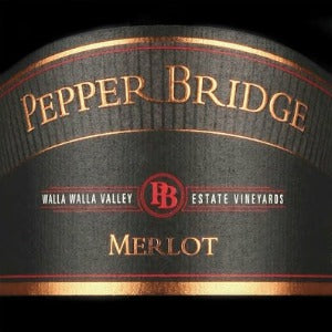 Pepper Bridge Merlot Walla Walla Washington, 2015, 750